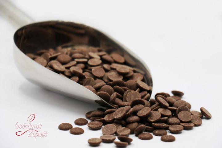 Milk chocolate chips / Τσιπς σοκολάτας γάλακτος - 0.5kg