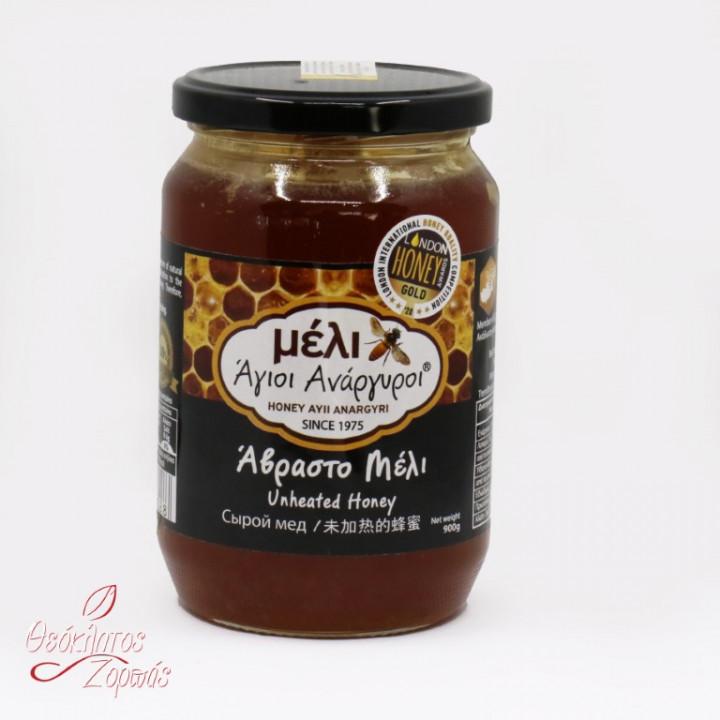 Honey Ayii Anargyroi Unheated / Μέλι Άβραστο Άγιοι Ανάργυροι 900gr