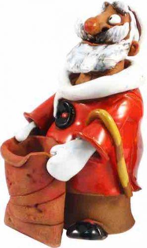 Santa Claus with present bag