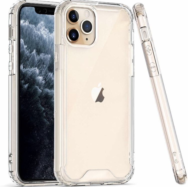 COLOR BUMPER CASE iPhone 11 Pro - clear