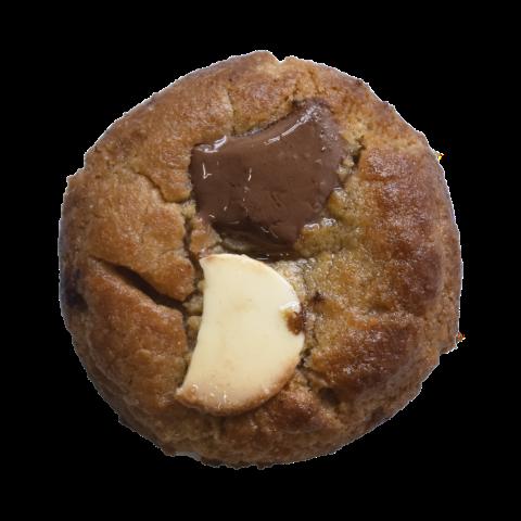 108. Double chocolate | Μπισκότο βανίλιας με κομμάτια άσπρης σοκολάτας και σοκολάτας γάλακτος
