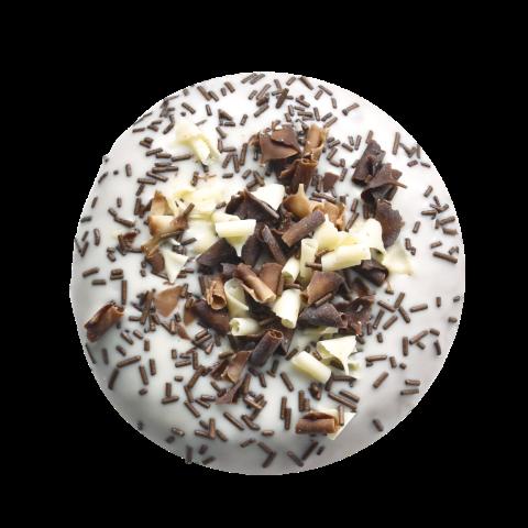 405. Petit Bueno | Ντόνατ με πραλίνα μπουένο, γαρνιρισμένο με νιφάδες σοκολάτας