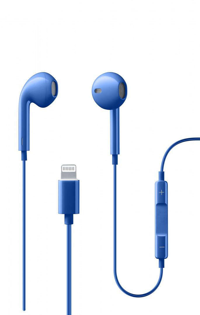 Cellularline - Earphones - SWAN Lightning - Blue