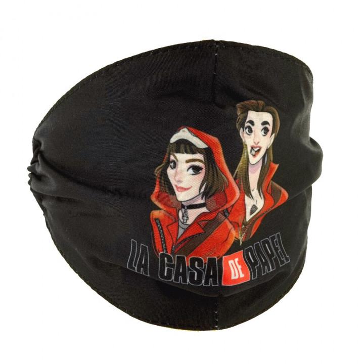 Priocare Reusable fashion textile mask La Casa De Papel