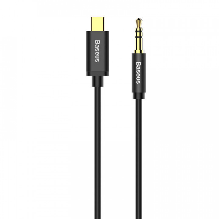 Baseus Type-C Male To 3.5 Male Audio Cable Yiven M01 Black