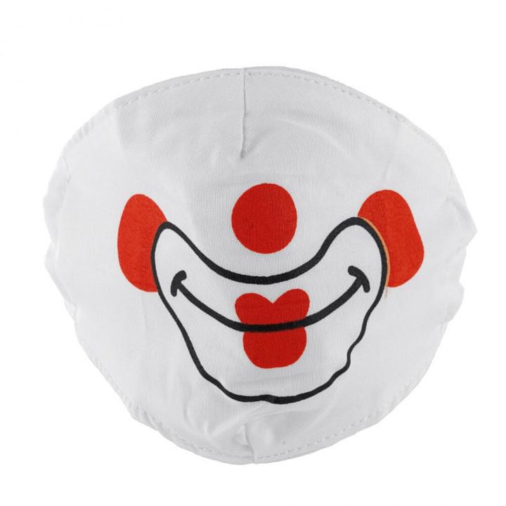 Priocare Reusable fashion textile mask Clown