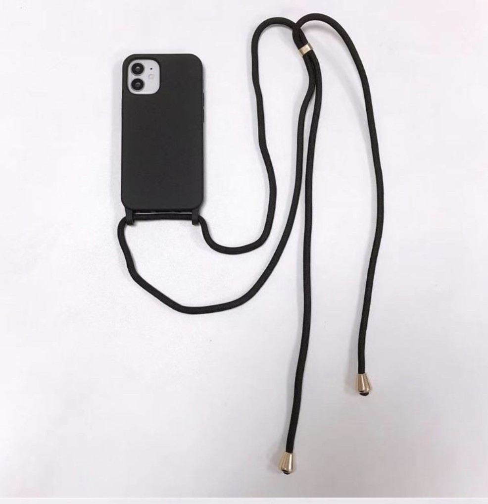 STRAP CASE iPhone 12 MINI - black
