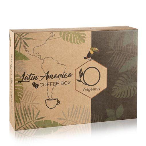 "ORIGEENS COFFEE BOX ""LATIN AMERICA"""