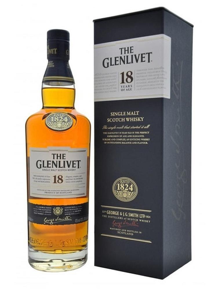 THE GLENLIVET SINGLE MALT 18 Y.O. 70cl