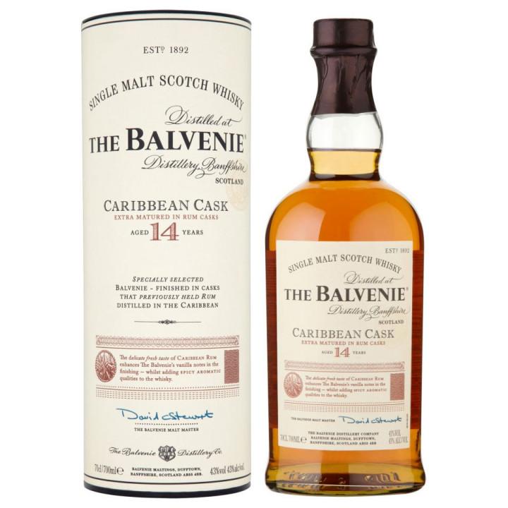 THE BALVENIE CARIBBEAN CASK 14 Y.O. 70cl