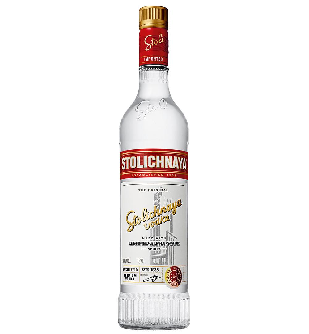 STOLICHNAYA VODKA 100cl