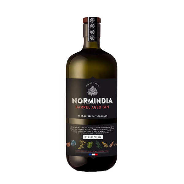 NORMINDIA BARREL AGED GIN 70cl