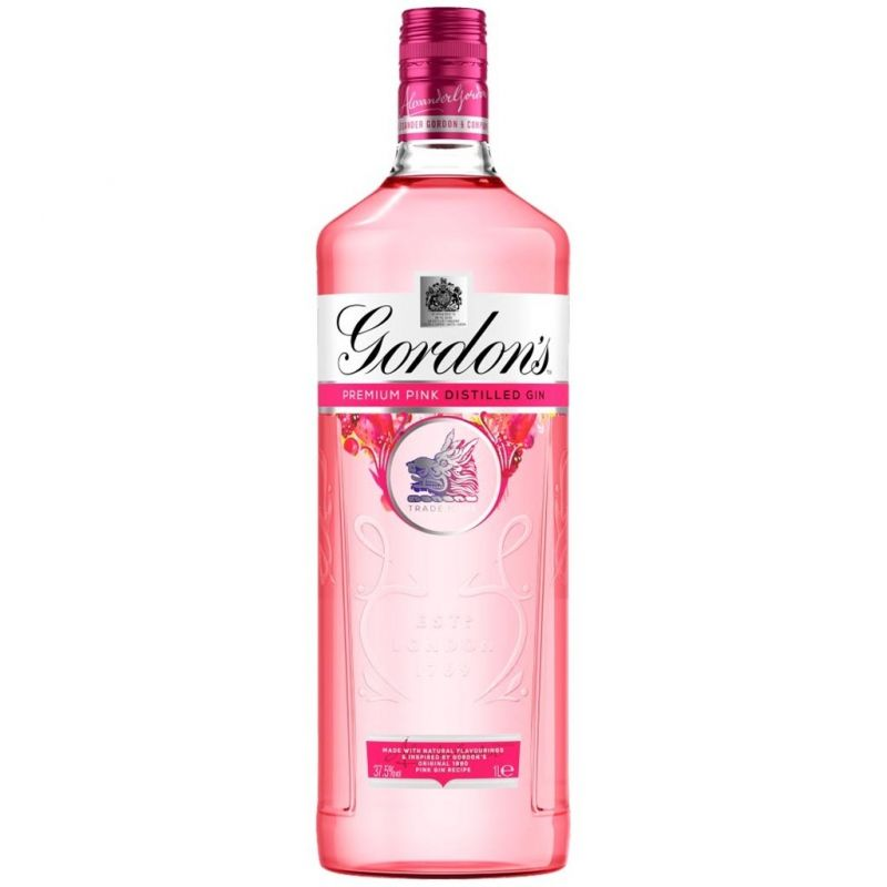 GORDONS PINK GIN 100cl