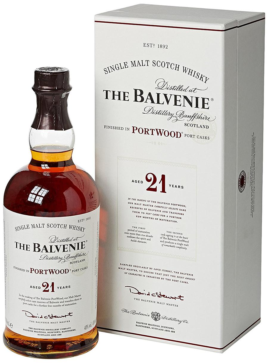 THE BALVENIE PORT WOOD 21 Y.O. 70cl