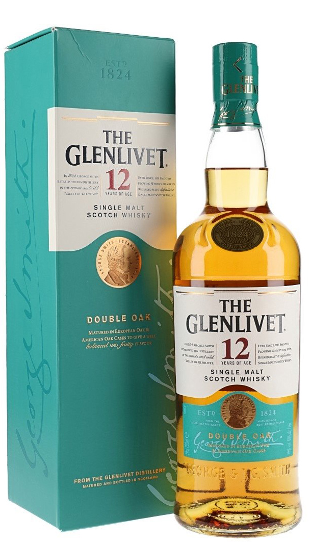 THE GLENLIVET SINGLE MALT 12 Y.O. 70cl