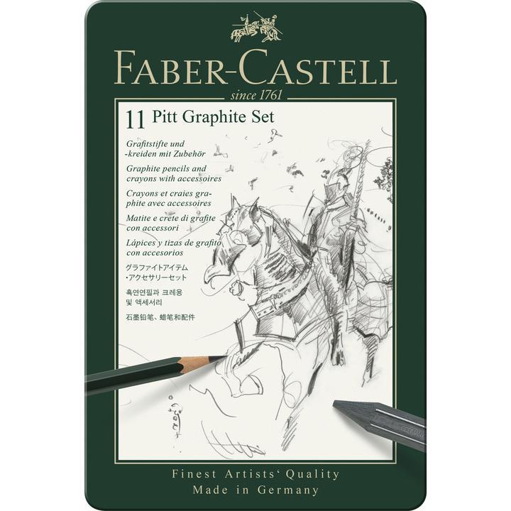 Faber Castel pitt graphite set 11
