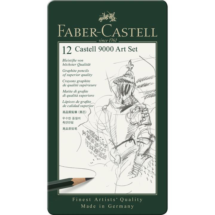 Faber Castel graphite pencils set 12