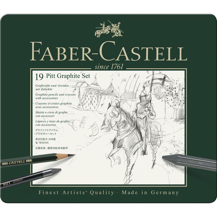 Faber Castel pitt graphite set 19