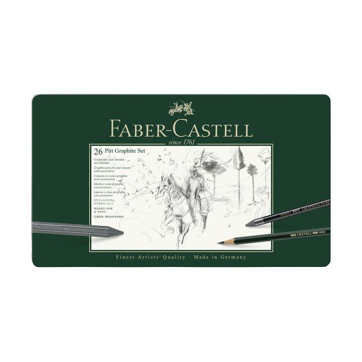 Faber Castel pitt graphite set 26