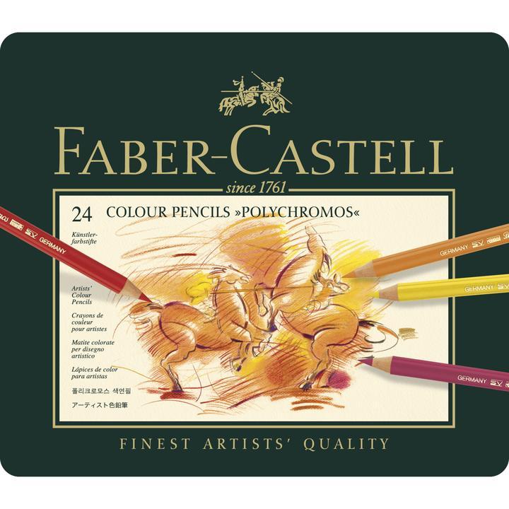 Faber Castel polychromos set 24