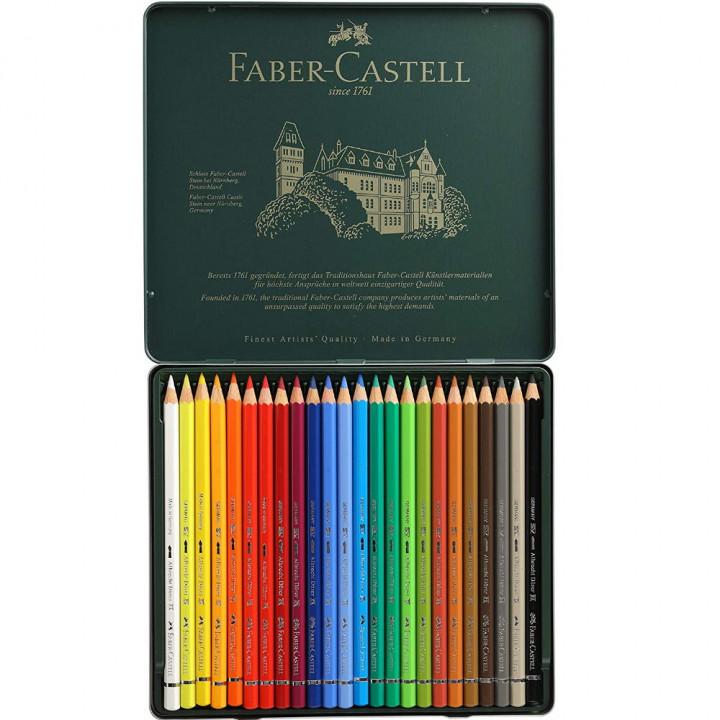 Faber Castel watercolour pencils 24