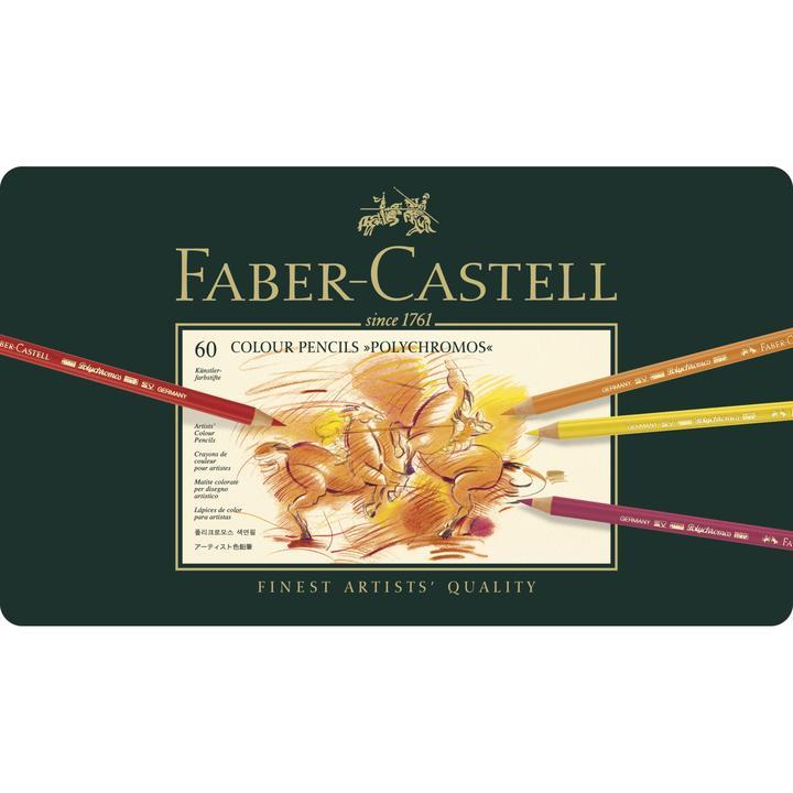 Faber Castel polychromos set 60