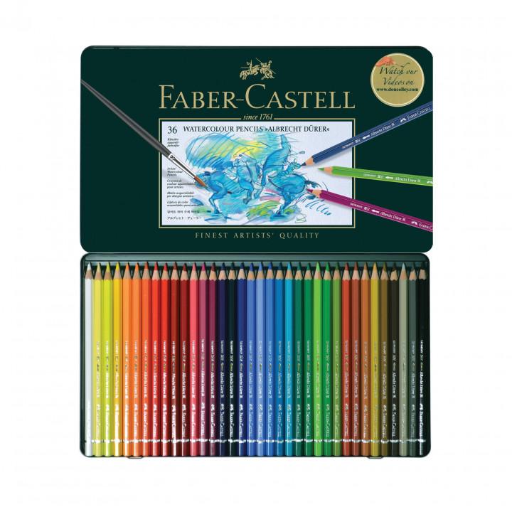 Faber Castel watercolour pencils 36