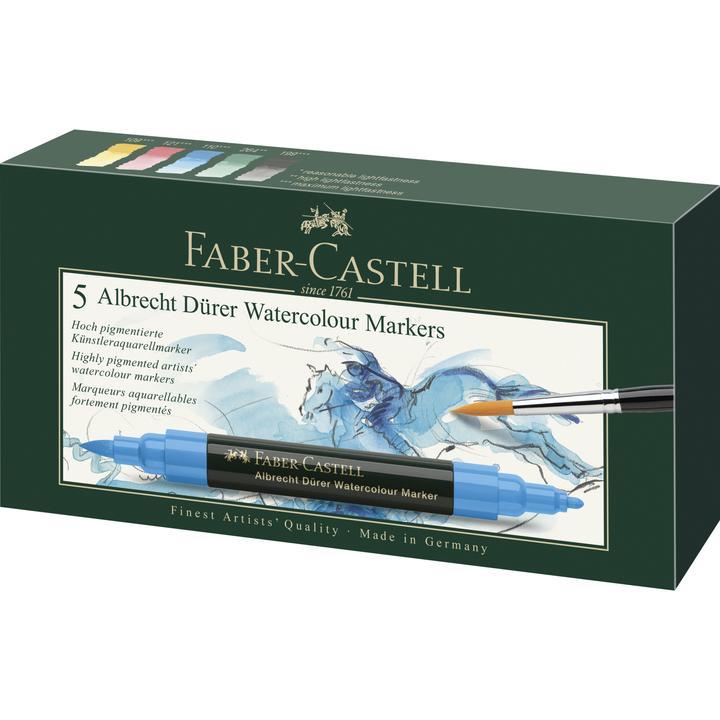 Faber Castel watercolour markers 5