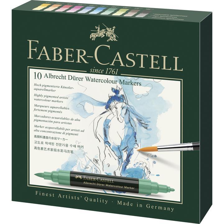Faber Castel watercolour markers 10