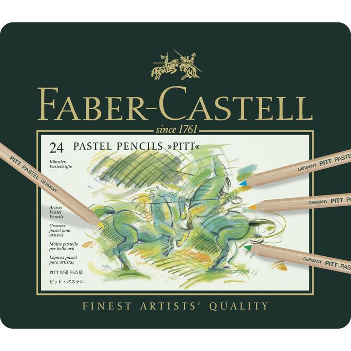 Faber Castel pastel pencils 24