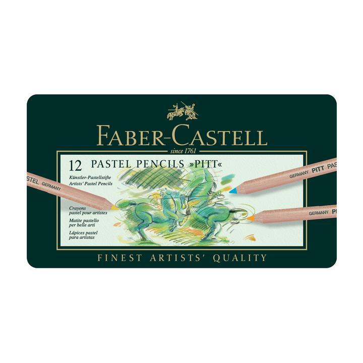 Faber Castel pastel pencils 12