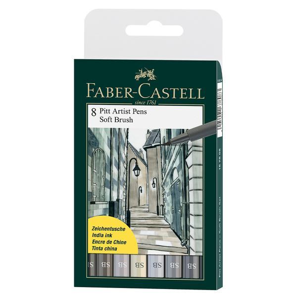 Faber Castel brush pen india ink8