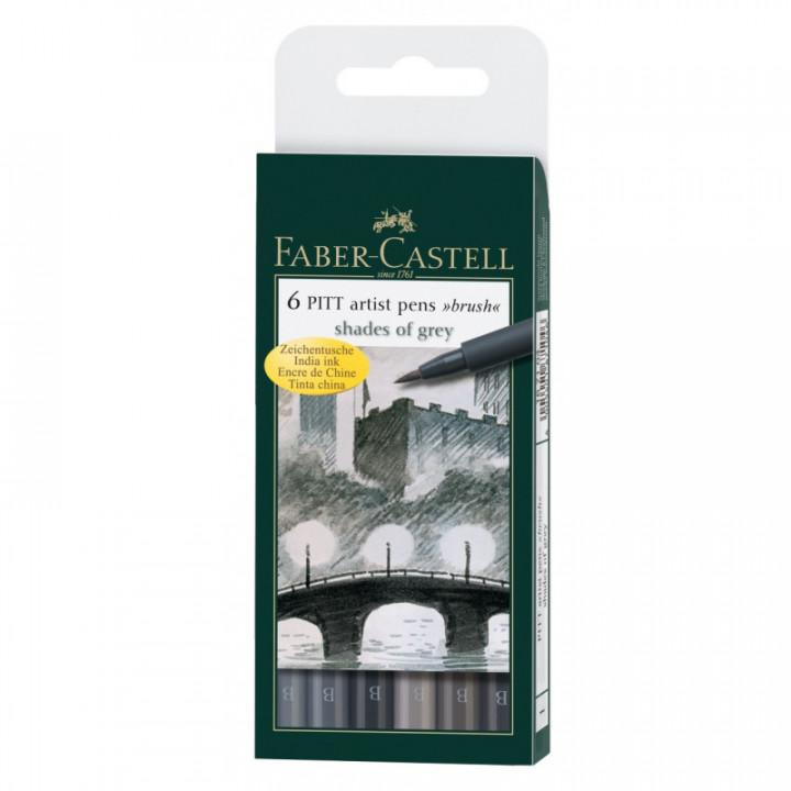 Faber Castel brush pen india ink6