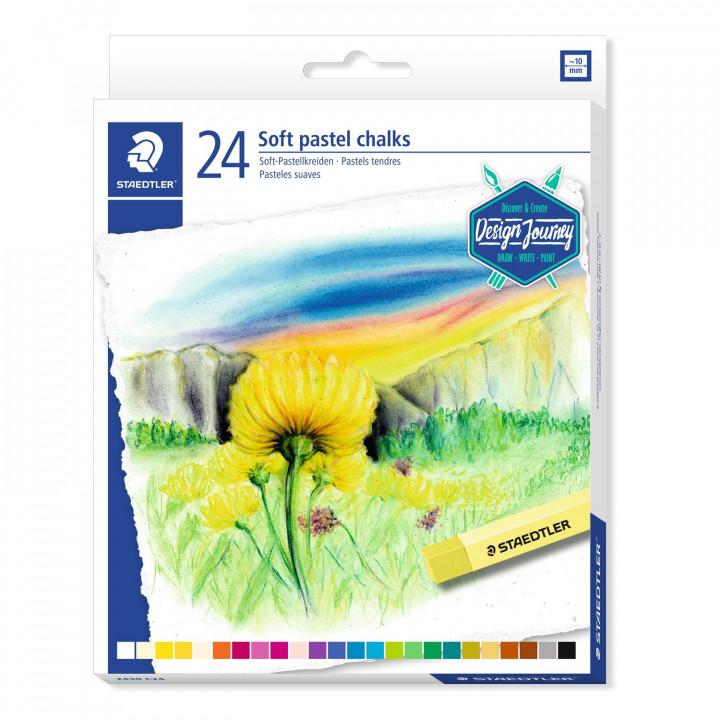 Staedtler soft pastels 24
