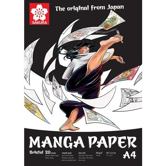 SAKURA manga pad a4