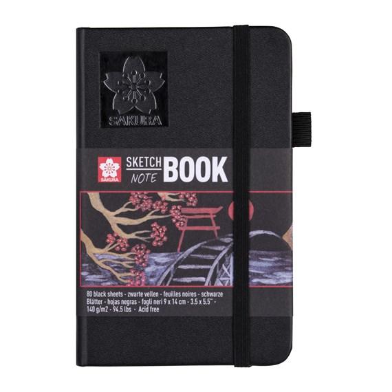 SAKURA sketch book 9x14 black