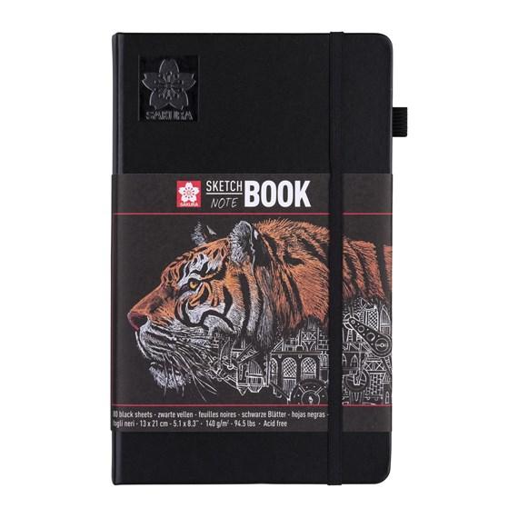 SAKURA sketch book 13x21 black
