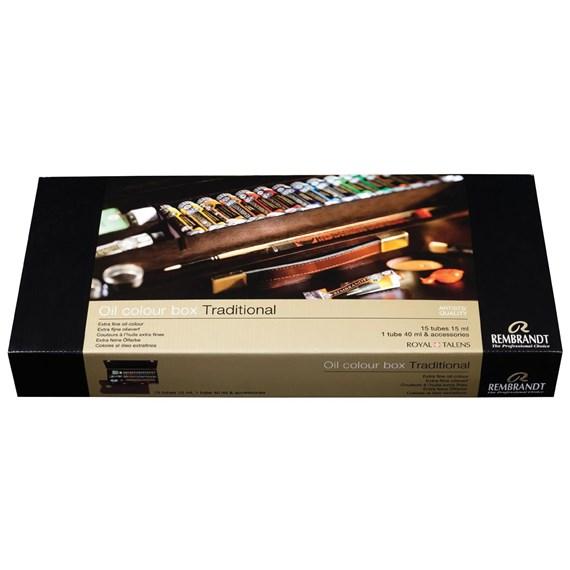 REMBRANDT oil colour box
