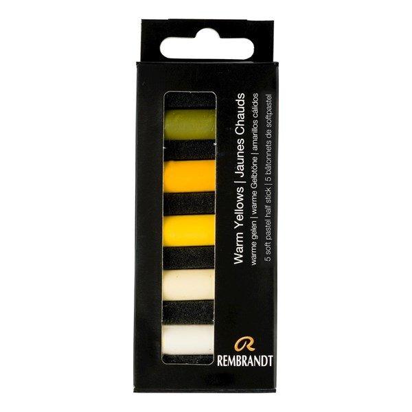 REMBRANDT soft pastel 5 warm yellow