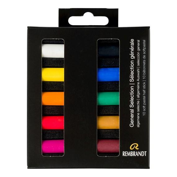 REMBRANDT soft pastel 10 general
