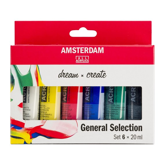 AMSTERDAM acrylics set 36x20ml