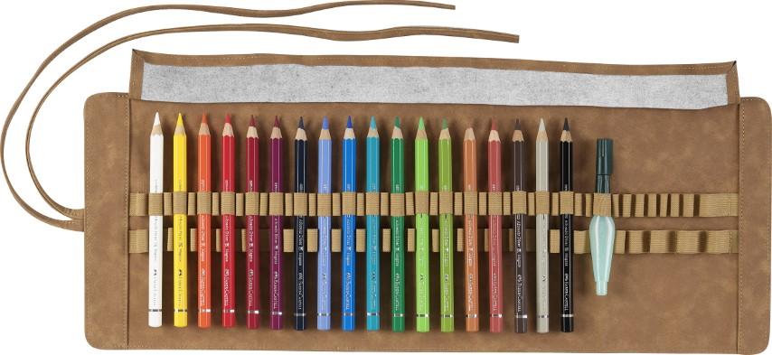 Faber Castel watercolour pencils 18
