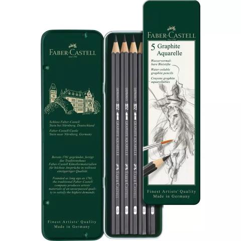 Faber Castel graphite pencils set 5