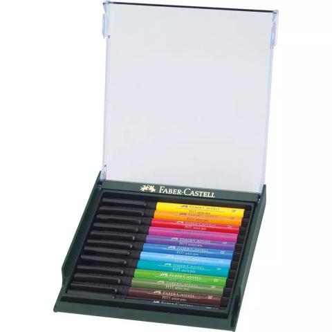 Faber Castel brush pen 12 basic