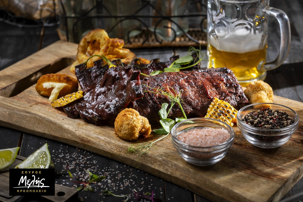 SPARE RIBS SLOW COOKED - 800 - 850g