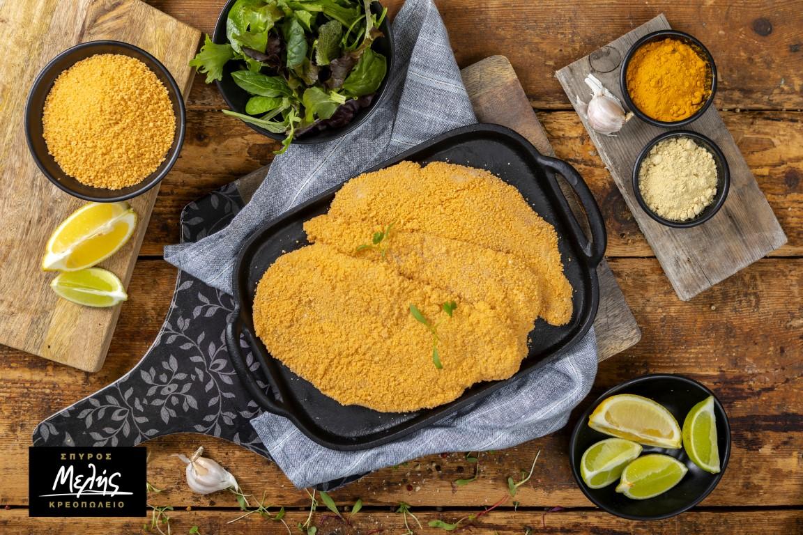 Κοτόπουλο Σνίτσελ Πανέ 650 - 700Gr