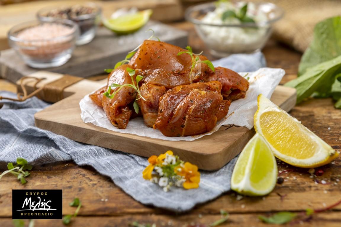 Κοτόπουλο Σουβλάκι Μαριναρισμένο - 500Gr