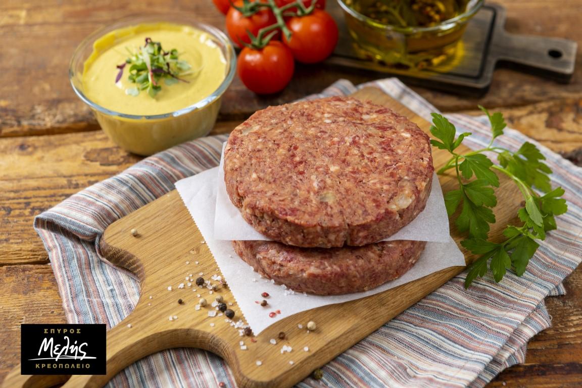 BEEF BBQ BURGER- 4pcs Χ 200gr