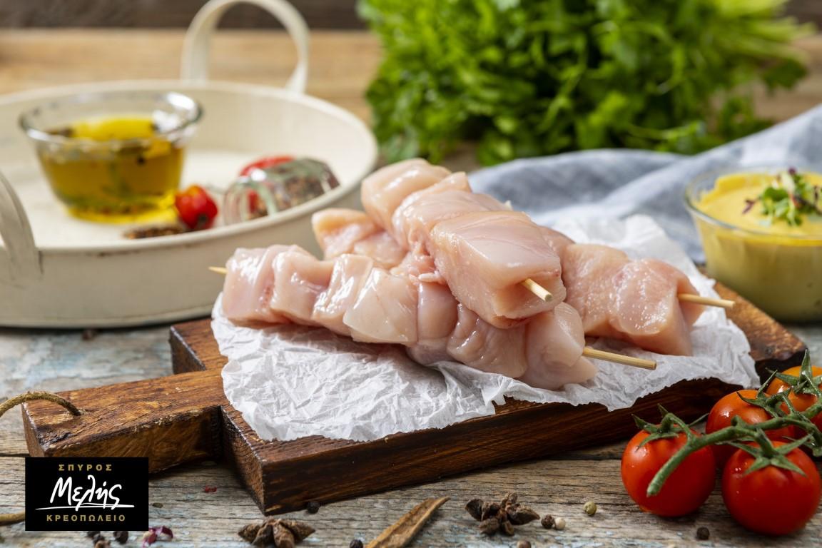 Κοτόπουλο Σουβλάκι Στο Ξυλάκι - 650g