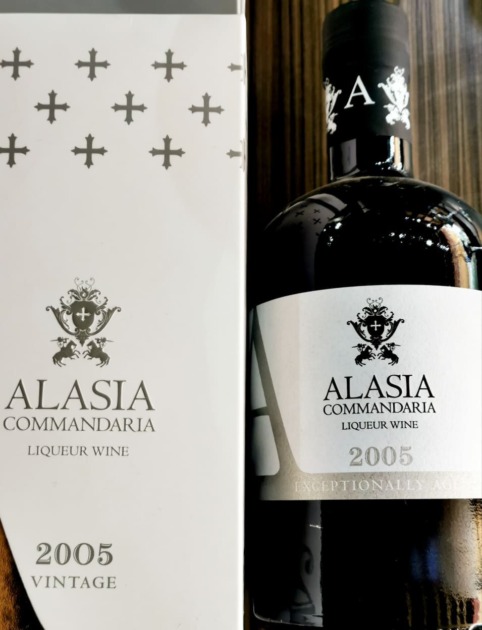 ALASIA COMMANDARIA VINTAGE 2005 EXCEPTIONALLY AGED 50CL